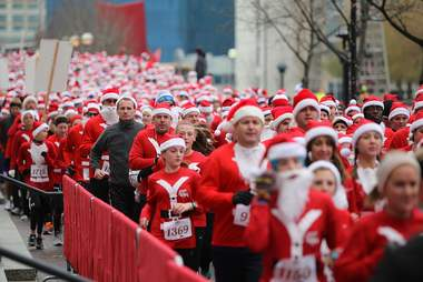 Santa Hustle Race Series