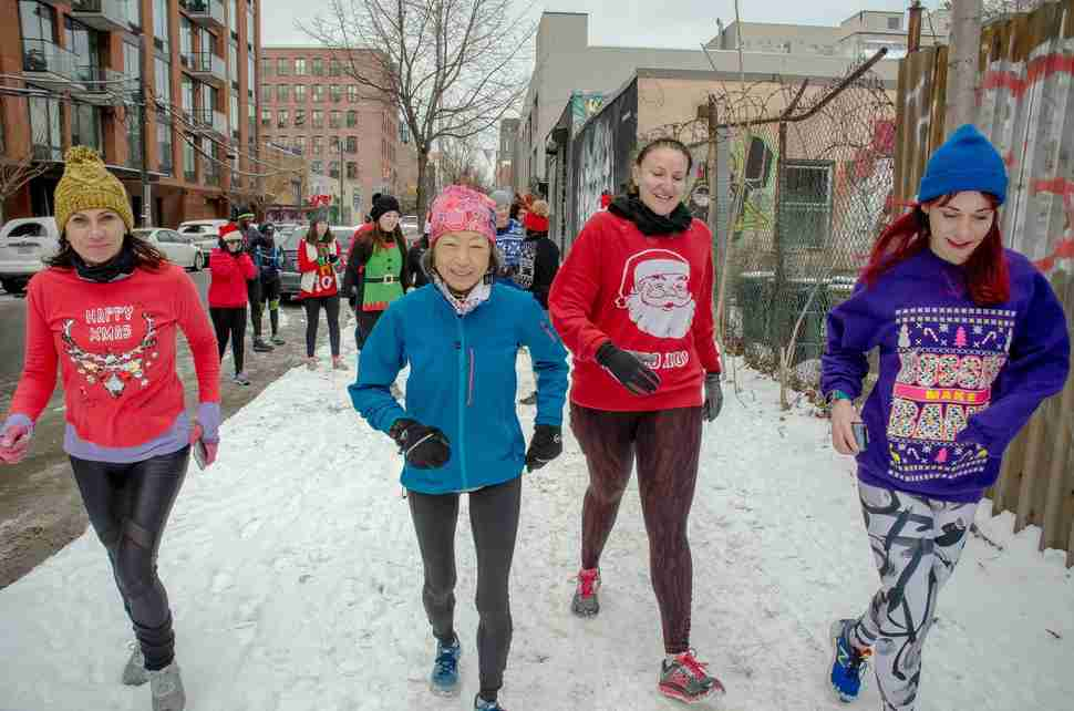 Chicago Ugly Sweater Art Run