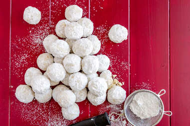 russian tea cakes cookies holidays christmas