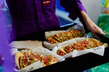 taco bell melbourne austalia tacos tram thru trams