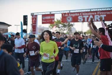 Los Angeles Chinatown Firecracker Run