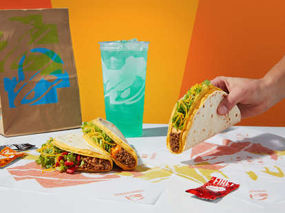 taco bell $1 double stack tacos reaper ranch nacho crunch chipotle cheddar