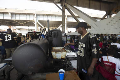 New Orleans tailgating