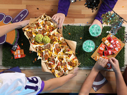taco bell nacho party pack large nachos