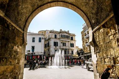 Arch in the Medina