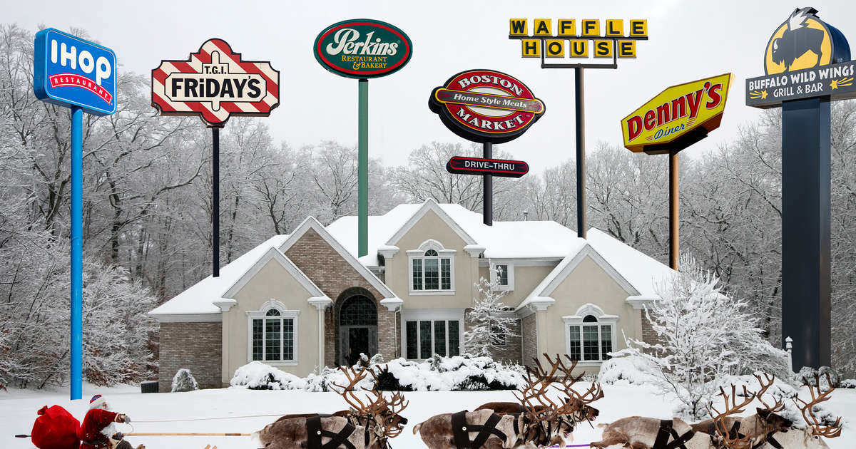 Chain Restaurants Open on Christmas Day