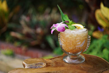 the toasted coconut low tide cocktail