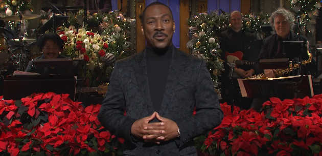 Eddie Murphy Brings Surprise Guests to His Brilliant 'Saturday Night Live' Monologue