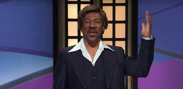 Eddie Murphy Plays Velvet Jones in Bonkers 'SNL' Black Jeopardy Sketch