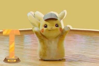 detective pikachu dancing