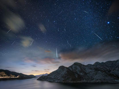 Quadrantid meteor shower 2020