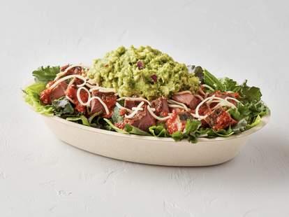 chipotle new super greens mix paleo vegan whole30 diet