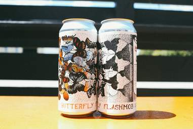 Butterfly Flashmob Solemn Oath Brewery