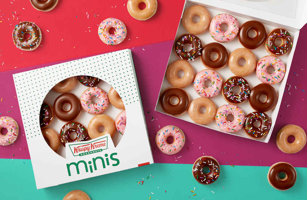 Krispy Kreme Just Launched All-New Mini Donuts & You Can Try Them for Free