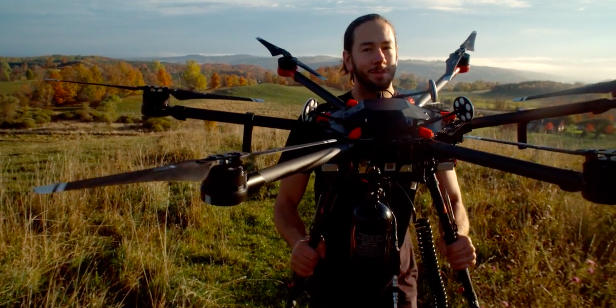 Canadian Company Aims to Plant 1 Billion Trees with Drones