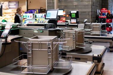 no plastic bags at checkout