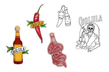 cholula tattoo hot sauce