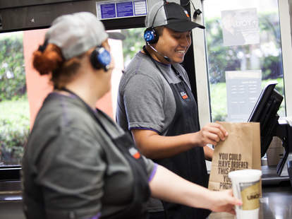 taco bell 2020 commitments pay salary vegetarian menu sustainable packaging