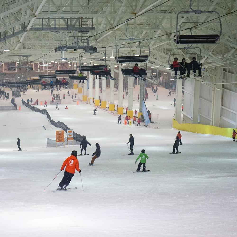 North America's First Indoor Ski Slope Has Arrived