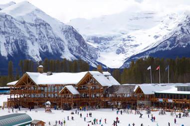 Lake Louise Ski Resort,