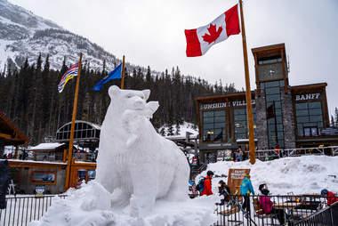 Sunshine Village ski area