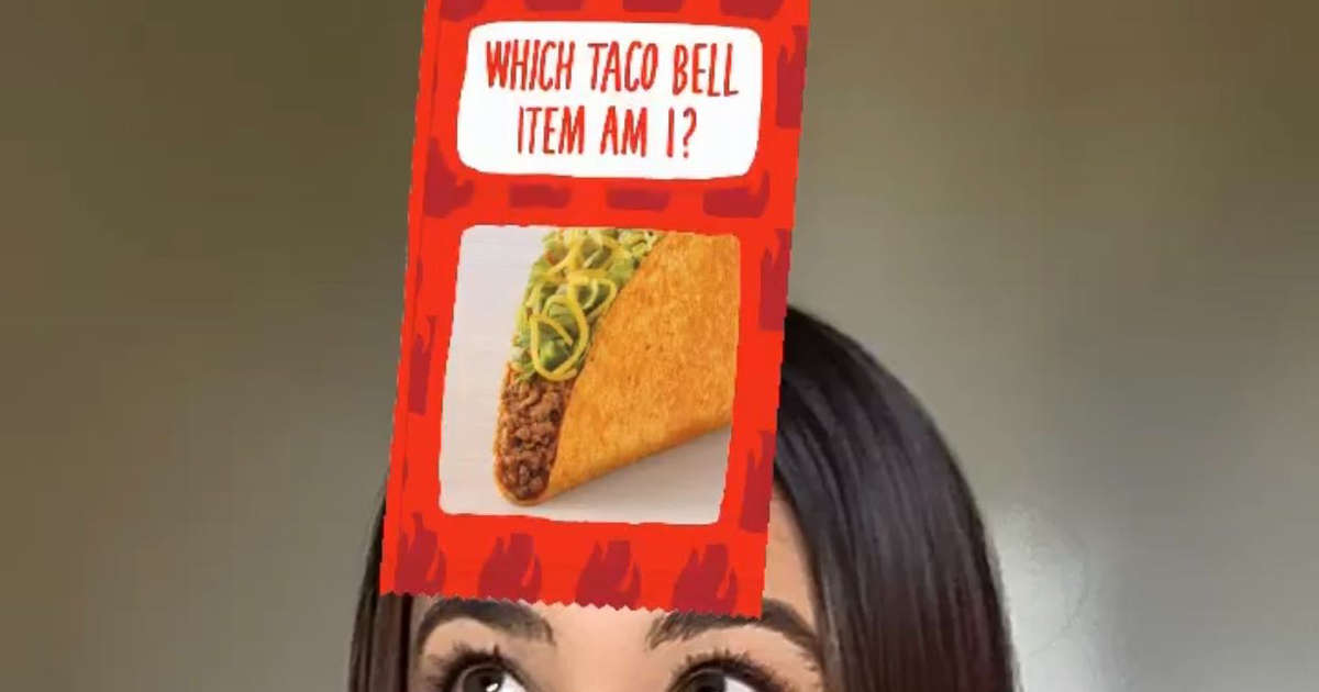 Taco Bell Made an Instagram Filter That Tells You What Menu Item You Are