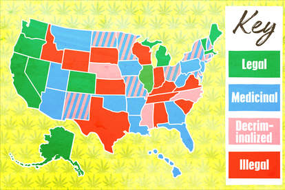 weed in each state