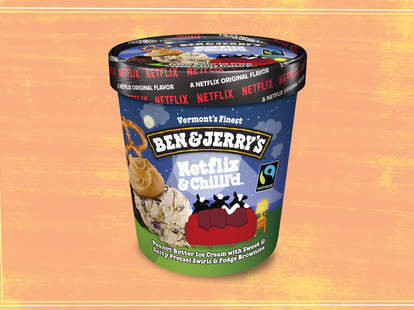 ben and jerry's netflix new ice cream flavor
