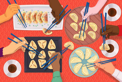 Jen Cafe dumplings