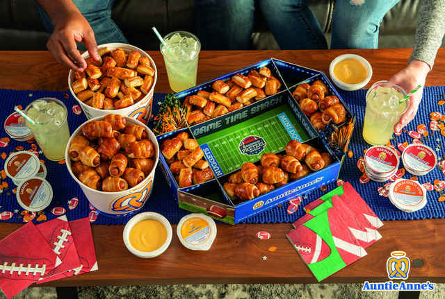 You Can Get This Pretzel-Filled Stadium From Auntie Anne's for the Super Bowl