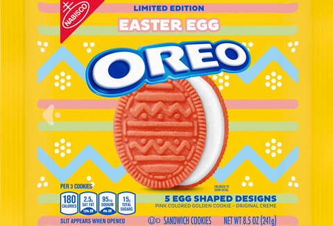 pink easter egg oreo original golden cream