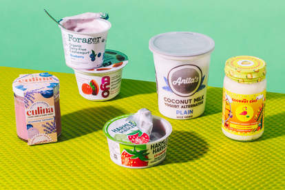 plant-based yogurt