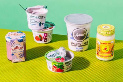 plant-based yogurt