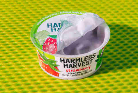 Harmless Harvest yogurt