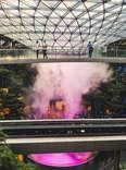 Futuristic Changi Airport in Singapore