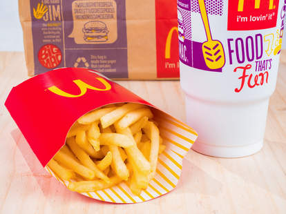 free McDonald's fries