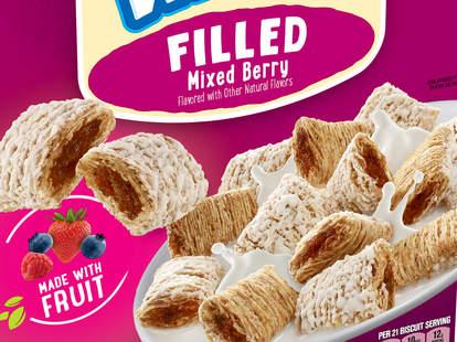 kellogg's mini wheats mixed berry fruit stuffing cereal fiber