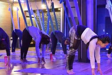 Aerial Yoga at Swet Studio