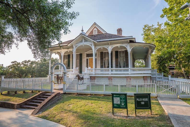 Pillot House at Sam Houston Park