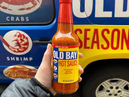 old bay hot sauce seasoning spicy maryland new