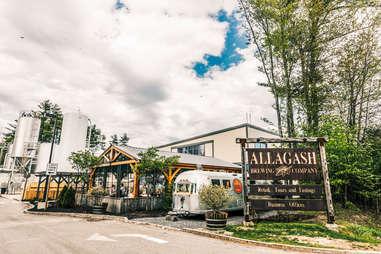 Allagash Brewing Company, Portland ME