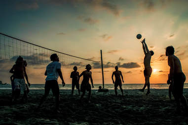 volleyball in puerto escondido