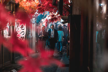 Japanese street food Yokocho