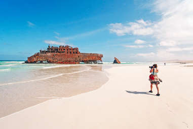 Cabo Santa Maria Beach, Island of Boa Vista