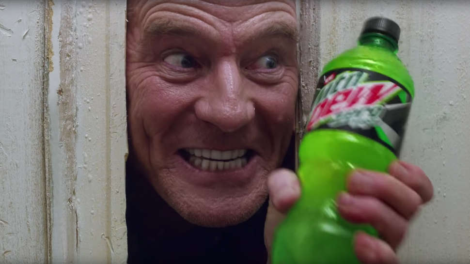 Image result for moutain dew super bowl commercial