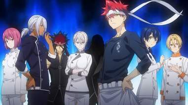 food wars, shokugeki no soma