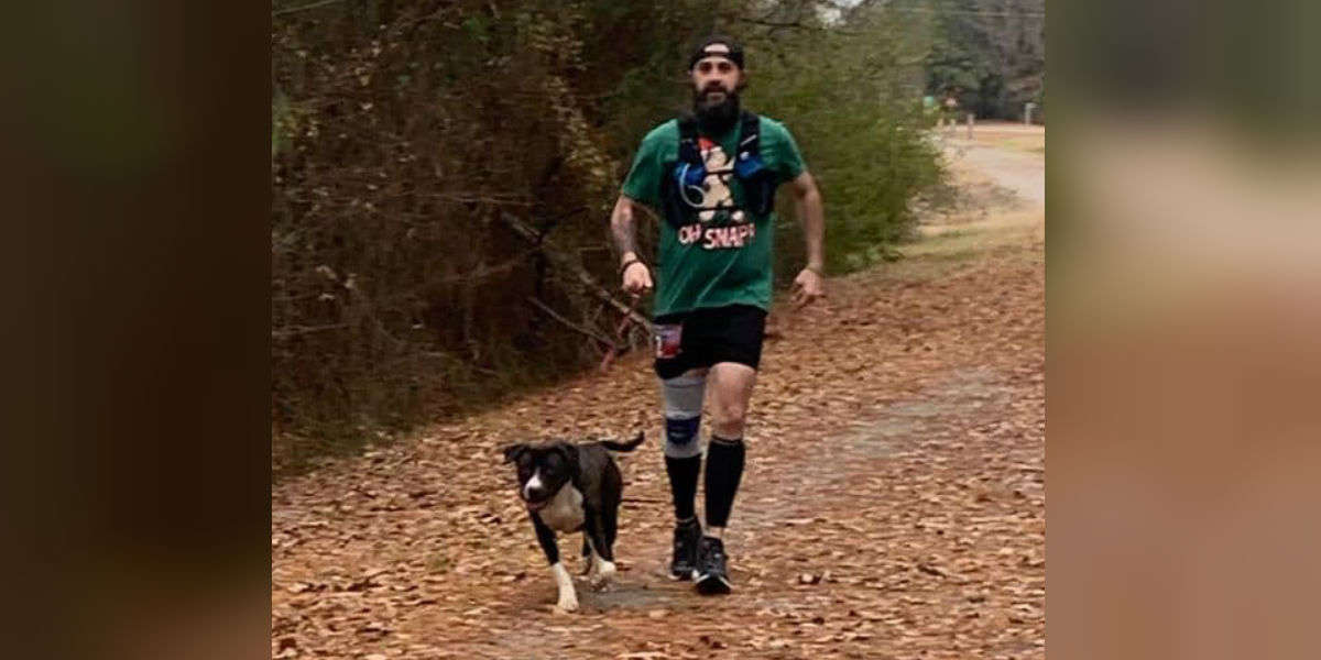 Stray Dog Joins Race And Runs 15 Miles To Find A Family