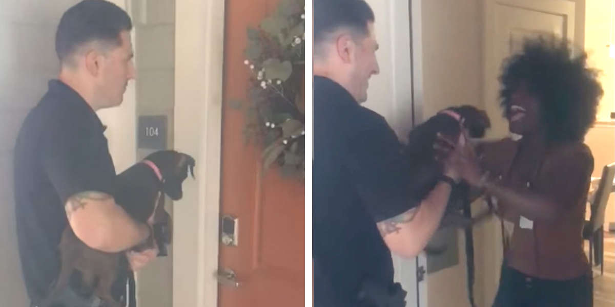 Woman Reuniting With Her Lost Dog Is The Happiest Thing You'll See All Day