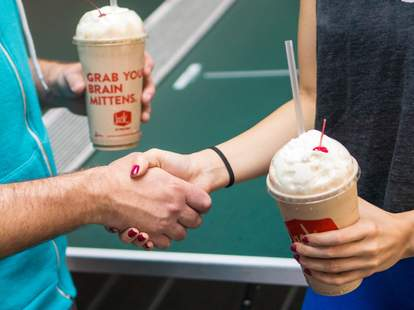 jack in the box valentine's day deal promotion free shake dessert churros churro cake app