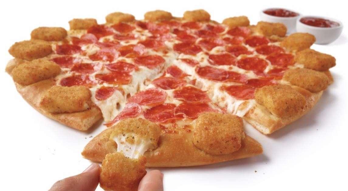 Pizza Hut's Newest Pizza Has a Fried Mozzarella Popper-Stuffed Crust